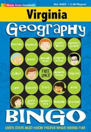 Virginia Geography Bingo Game!