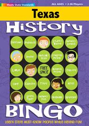 Texas History Bingo Game!