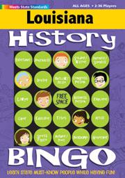 Louisiana History Bingo Game!