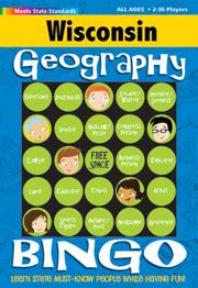 Wisconsin Geography Bingo Game!