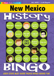 New Mexico History Bingo Game