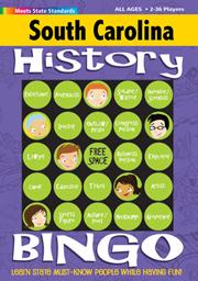 South Carolina History Bingo Game