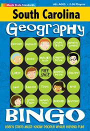 South Carolina Geography Bingo Game