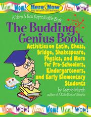 The Budding Genius Book of Reproducible Activities