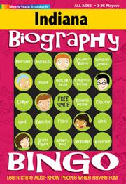Indiana Biography Bingo