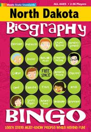 North Dakato Biography Bingo