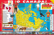 The Canadian Experience Poster/Map!