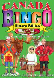 Canada History Bingo