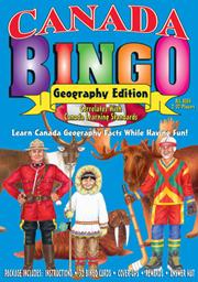 Canada Geography Bingo