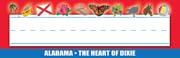 Alabama Nameplates - Pack of 36