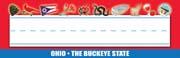 Ohio Nameplates - Pack of 36
