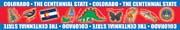 Colorado Borders for Bulletin Boards
