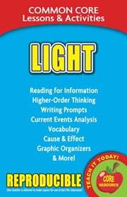 Light – Common Core Lessons & Activities
