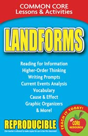 Landforms – Common Core Lessons & Activities