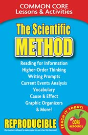 The Scientific Method – Common Core Lessons & Activities