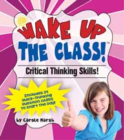 Critical Thinking Skills! – Common Core Question Pack