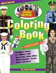 Heroes & Helpers Coloring Book