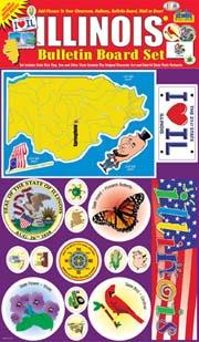 Illinois Bulletin Board Set