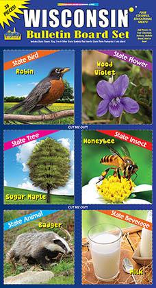 Wisconsin Bulletin Board Set