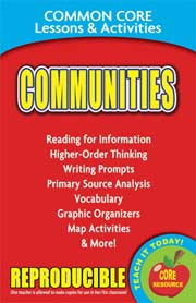 Communities – Common Core Lessons & Activities