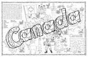 Canada Symbols & Facts FunSheet – Pack of 30