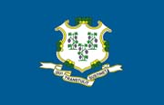 Connecticut Flag Poster