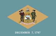 Delaware Flag Poster