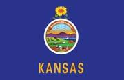 Kansas Flag Poster