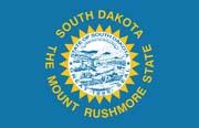 South Dakota Flag Poster