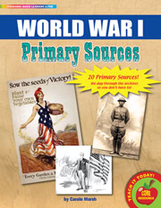 World War I Primary Sources Pack