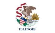 Illinois Flag Sticker