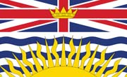 Canada Flag Sticker-British Columbia