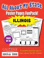 All About My State-Illinois FunPack (Pack of 30)