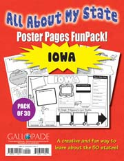 All About My State-Iowa FunPack (Pack of 30)