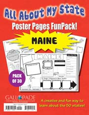 All About My State-Maine FunPack (Pack of 30)