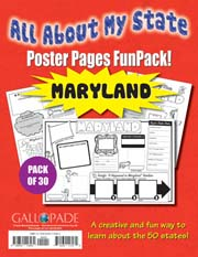 All About My State-Maryland FunPack (Pack of 30)