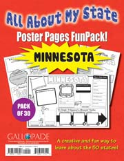 All About My State-Minnesota FunPack (Pack of 30)