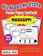 All About My State-Mississippi FunPack (Pack of 30)