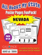 All About My State-Nevada FunPack (Pack of 30)