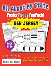 All About My State-New Jersey FunPack (Pack of 30)