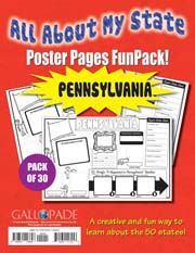 All About My State-Pennsylvania FunPack (Pack of 30)