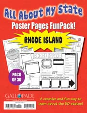 All About My State-Rhode Island FunPack (Pack of 30)