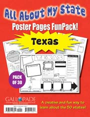 All About My State-Texas FunPack (Pack of 30)