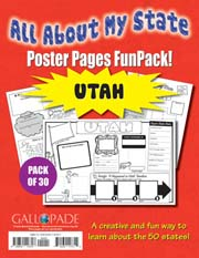 All About My State-Utah FunPack (Pack of 30)
