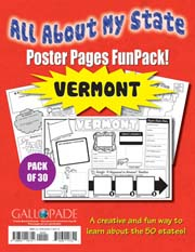 All About My State-Vermont FunPack (Pack of 30)