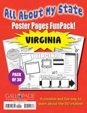 All About My State-Virginia FunPack (Pack of 30)