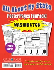All About My State-Washington FunPack (Pack of 30)