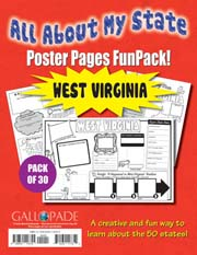 All About My State-West Virginia FunPack (Pack of 30)