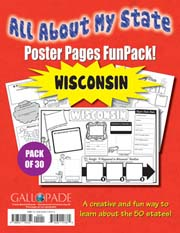 All About My State-Wisconsin FunPack (Pack of 30)