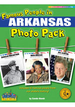 Famous People from Arkansas Photo Pack